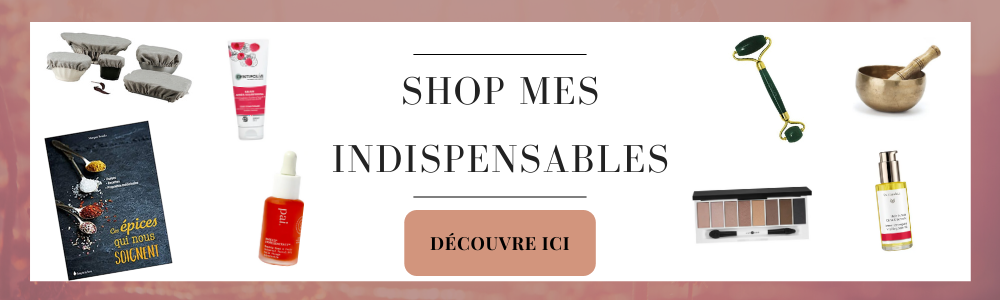 banniere shop les indispensables