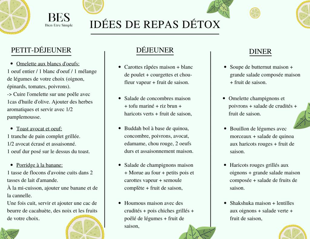 repas-cure-detox-maison